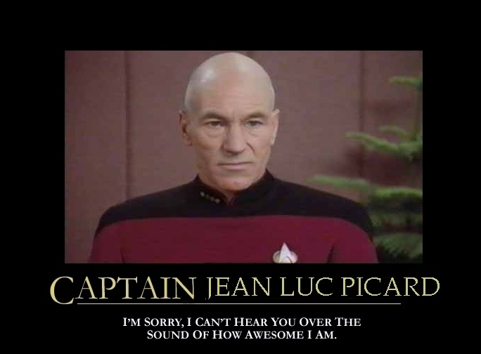 captain picard giddy as a school boy christopher lee deards