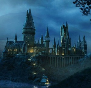 Hogwarts Castle--Under the Cover of the Universe?