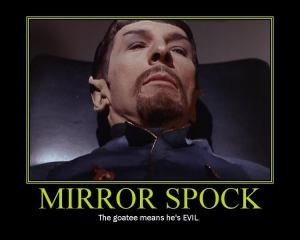 Spock from the Mirror Universe